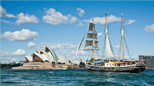 Sydney Habour Tall Ship Cruises