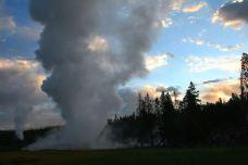 蒸汽船喷泉-黄石国家公园-用户3436073
