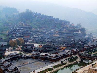 通道皇都侗民族文化村