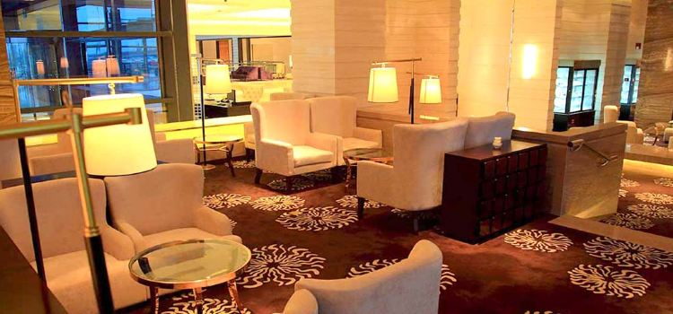 Shanghai Zhong Hang Park Hyatt Hotel Lobby Lounge