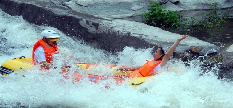 連雲山峽谷漂流1