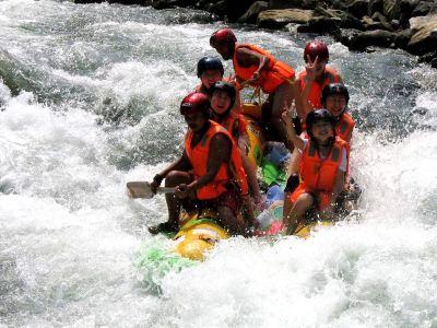 Hehua Mountain Rafting