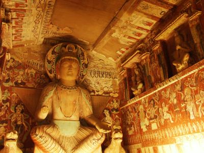 Dunhuang Mogao Grottoes Antique Protect Research Exhibition Center