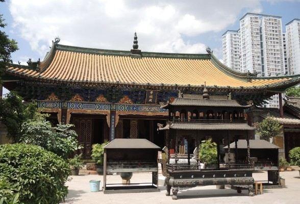 Zhenqingguan Ancient Building