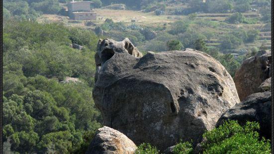 南寨山石景