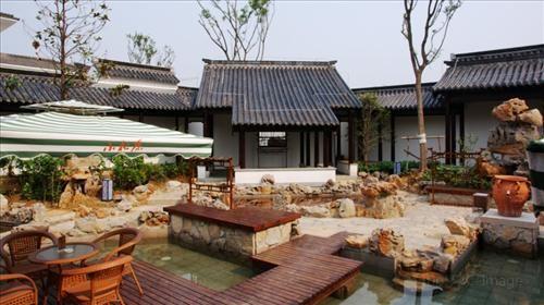 푸루둥하이(복여동해) 온천1