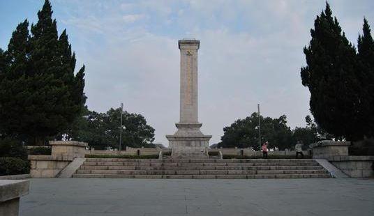 사명산 열사기념비