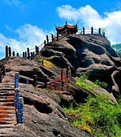 连城游记图文-我在龙岩连城冠豸山,寻找美!