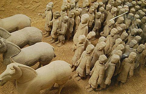 The Terra Cotta Warriors Of WeiShan
