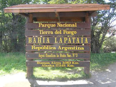 The Starting Point of Pan-American Highway
