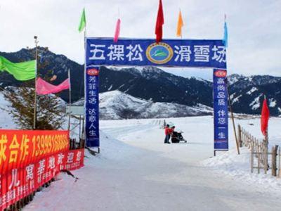 五棵松滑雪場