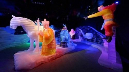 廣府景區冰燈展