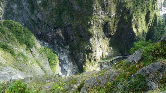 錐麓大斷崖