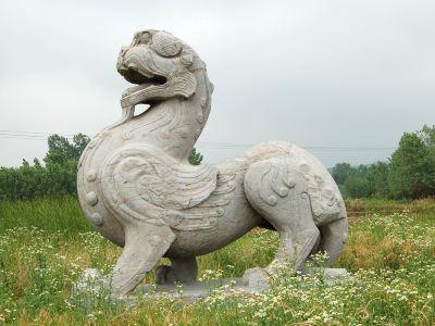 南朝陵墓石刻