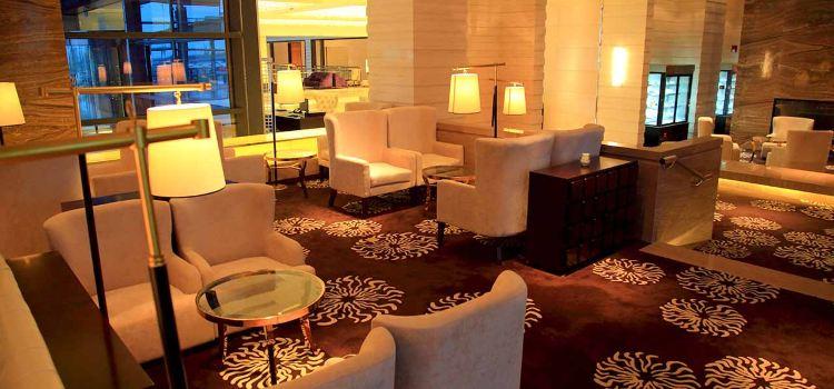 Shanghai Zhong Hang Park Hyatt Hotel Lobby Lounge3