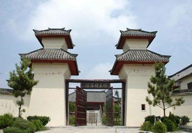 項王蠟像館