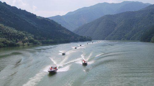浙西三峽快艇飛舟