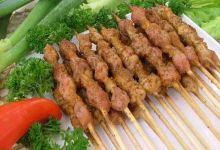乌鲁木齐美食图片-烤羊肉串
