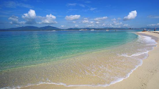 蜈支洲島海濱浴場