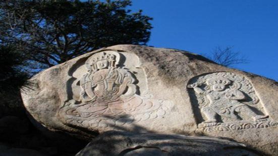 第穆摩崖造像及雕刻