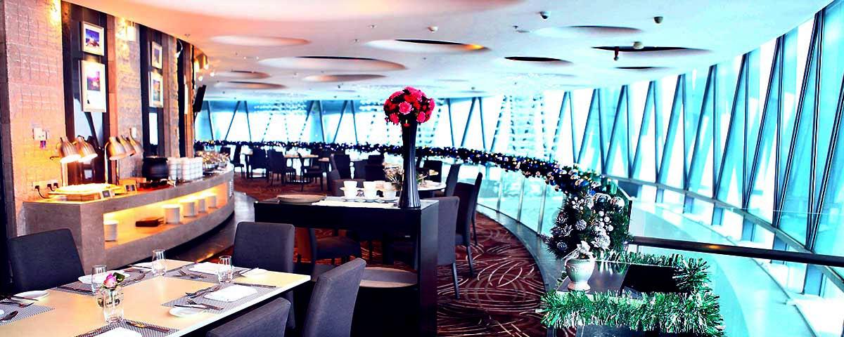 廣州塔106層璇璣地中海旋轉餐廳餐飲票