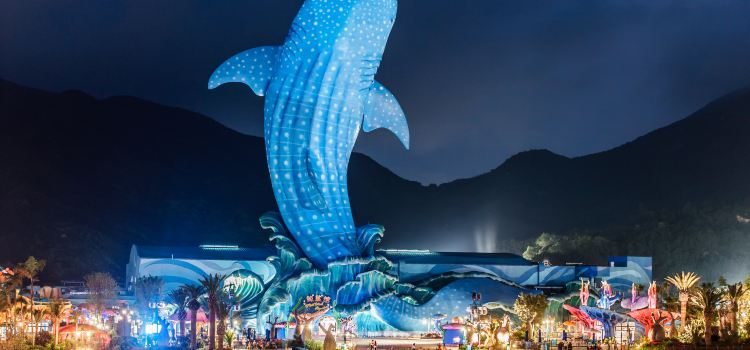 Zhuhai Chimelong Ocean Kingdom2
