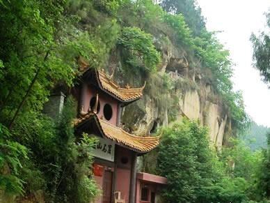 Buddha Tourist Attraction in Yuji Mountain