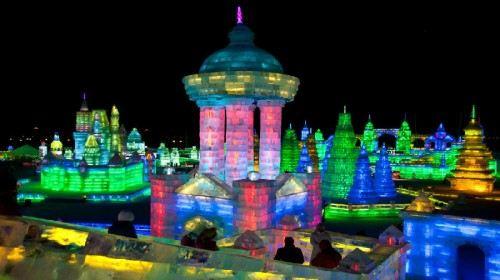 Olympic Ice Lantern Festival