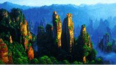 西海峰林-武陵源区-优雅转身