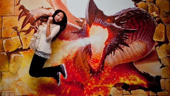 Foshan Large 3D Dream Art Experience Hall