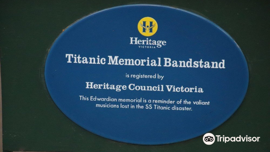 The Titanic Memorial Bandstand