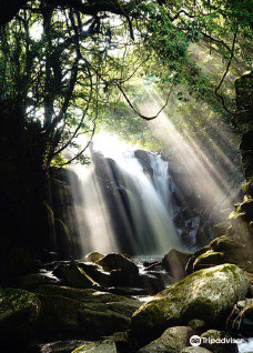 Meotodaki Falls-熊本县