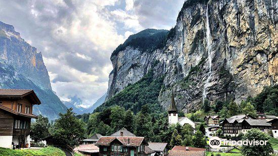 Lauterbrunnen Valley Waterfalls