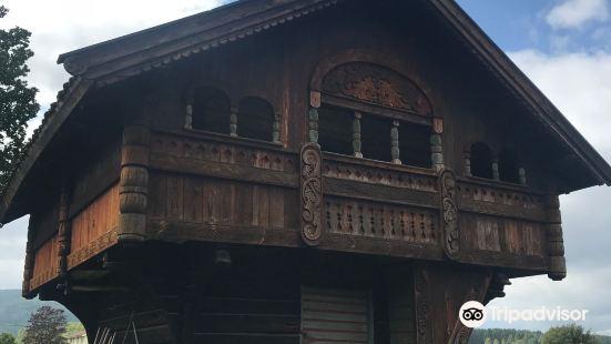 Evju Old Courtyard