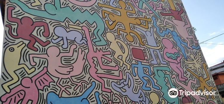Murale di Keith Haring1
