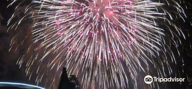 Kanmon Kaikyo Fireworks1